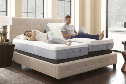 cama eléctrica articulada